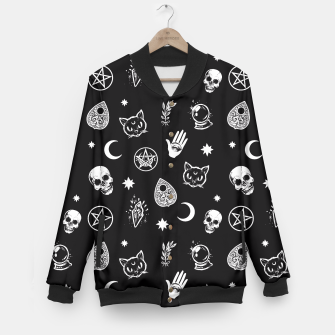 Thumbnail image of Witch pattern Baseball Jacket, Live Heroes