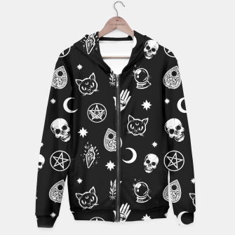 Thumbnail image of Witch pattern Hoodie, Live Heroes