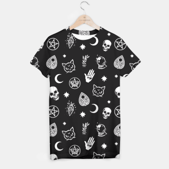Thumbnail image of Witch pattern T-shirt, Live Heroes