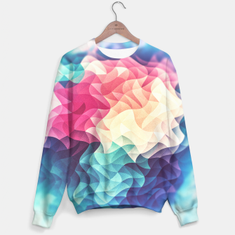 Miniature de image de Colorful Abstract Geometric Vintage Triangle Pattern Sweater, Live Heroes