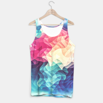 Miniature de image de Colorful Abstract Geometric Vintage Triangle Pattern Tank Top, Live Heroes