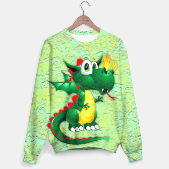 Thumbnail image of Baby Dragon Cute Cartoon  Sweater, Live Heroes