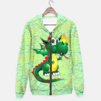 Thumbnail image of Baby Dragon Cute Cartoon  Hoodie, Live Heroes