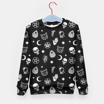 Thumbnail image of Witch Pattern 3 Kid's Sweater, Live Heroes