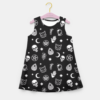 Thumbnail image of Witch Pattern 3 Girl's Summer Dress, Live Heroes