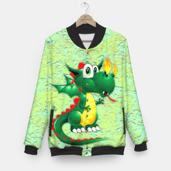 Thumbnail image of Baby Dragon Cute Cartoon  Baseball Jacket, Live Heroes