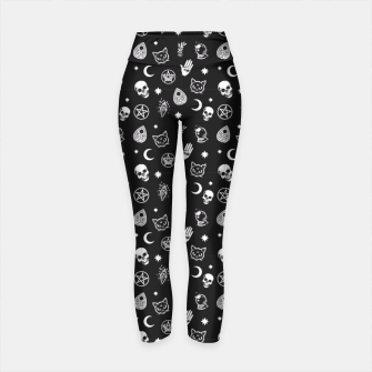 Thumbnail image of Witch Pattern 3 Yoga Pants, Live Heroes