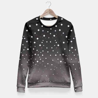 Thumbnail image of Starry Night Fitted Waist Sweater, Live Heroes