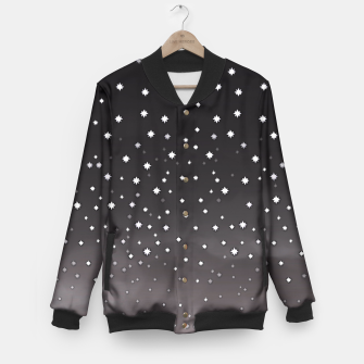 Thumbnail image of Starry Night Baseball Jacket, Live Heroes