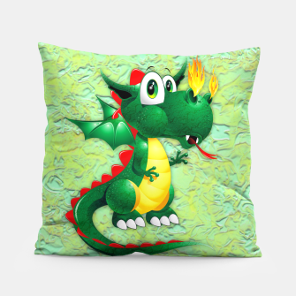 Thumbnail image of Baby Dragon Cute Cartoon  Pillow, Live Heroes