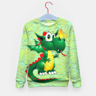 Thumbnail image of Baby Dragon Cute Cartoon  Kid's Sweater, Live Heroes