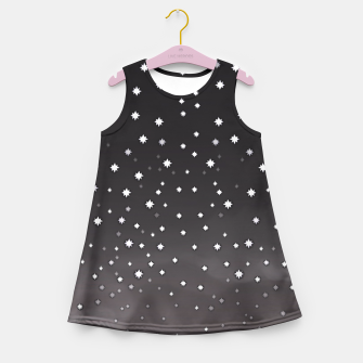 Thumbnail image of Starry Night Girl's Summer Dress, Live Heroes