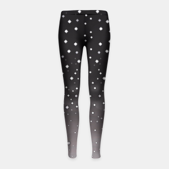 Thumbnail image of Starry Night Girl's Leggings, Live Heroes