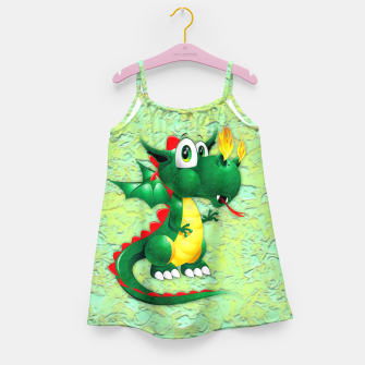Thumbnail image of Baby Dragon Cute Cartoon  Girl's Dress, Live Heroes