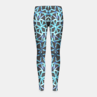 Thumbnail image of Blue Passion 03 Girl's Leggings, Live Heroes