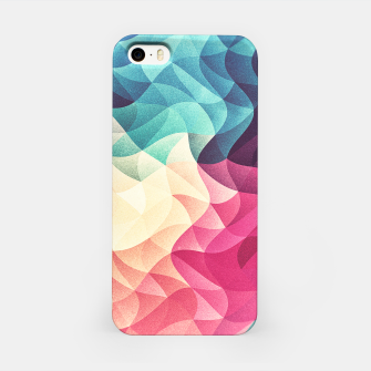 Miniature de image de Colorful Abstract Geometric Vintage Triangle Pattern iPhone Case, Live Heroes