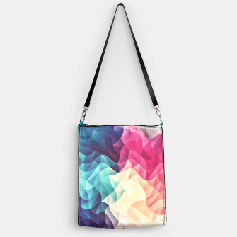 Thumbnail image of Colorful Abstract Geometric Vintage Triangle Pattern Handbag, Live Heroes