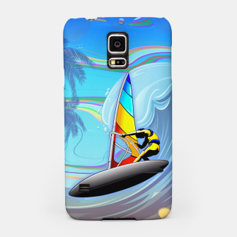 Thumbnail image of WindSurfer on Ocean Waves  Samsung Case, Live Heroes