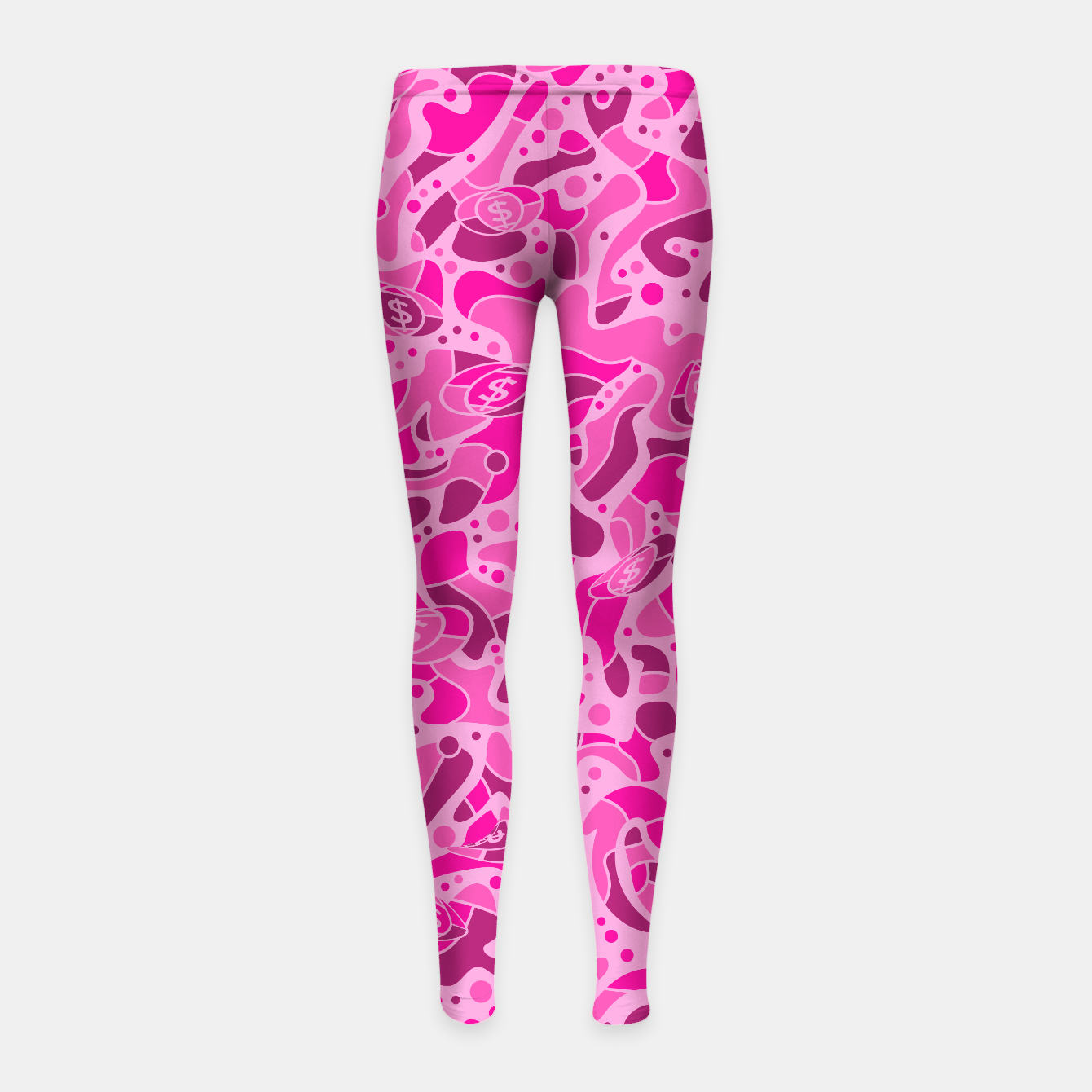 Image of Sprawl Pink Camo - Kid´s Leggings - Live Heroes