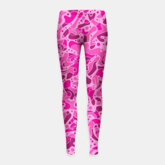 Thumbnail image of Sprawl Pink Camo - Kid´s Leggings, Live Heroes