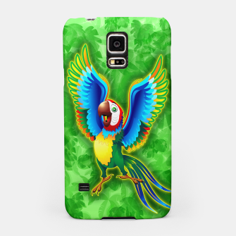 Thumbnail image of Macaw Happy Cartoon  Samsung Case, Live Heroes