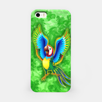 Thumbnail image of Macaw Happy Cartoon  iPhone Case, Live Heroes