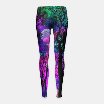 Magic forest Girl's Leggings obraz miniatury