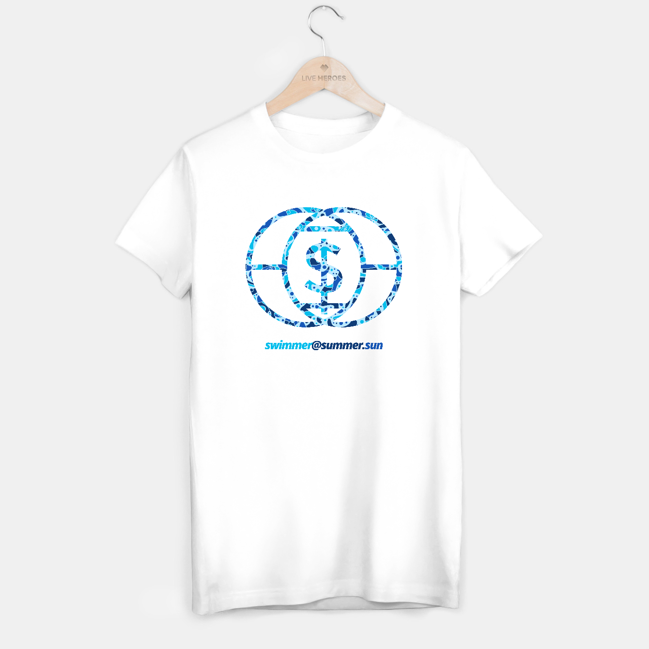 Image of Swimmer - Tee - Live Heroes
