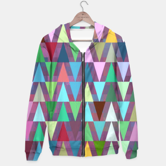 Thumbnail image of Multi Triangles 5 Pattern Hoodie, Live Heroes