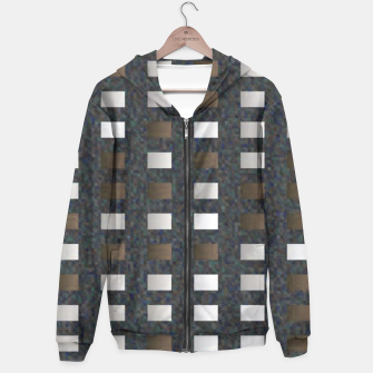 Thumbnail image of Silver Rust Rectangle Pattern Hoodie, Live Heroes