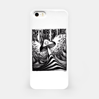 Miniatur Keep Warning From Badgers! iPhone Case, Live Heroes
