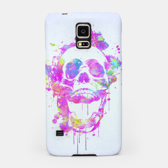 Miniaturka  Cool & Trendy Pink Watercolor Skull Samsung Case, Live Heroes
