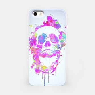 Miniature de image de  Cool & Trendy Pink Watercolor Skull iPhone Case, Live Heroes