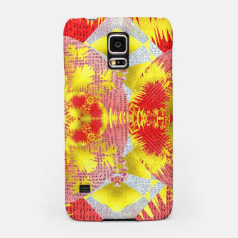 Thumbnail image of Red Gold Oriental Print Samsung Case, Live Heroes