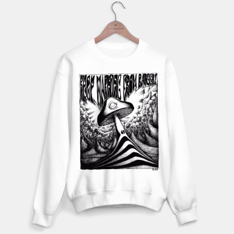 Miniatur Keep Warning From Badgers! Sweater, Live Heroes