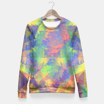 Thumbnail image of Brushstrokes Fitted Waist Sweater, Live Heroes