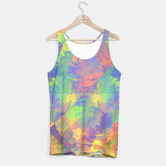 Thumbnail image of Brushstrokes Tank Top, Live Heroes