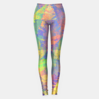 Thumbnail image of Brushstrokes Leggings, Live Heroes