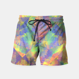 Thumbnail image of Brushstrokes Swim Shorts, Live Heroes