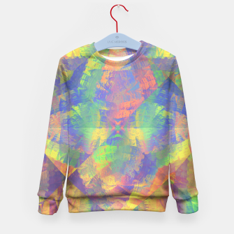 Thumbnail image of Brushstrokes Kid's Sweater, Live Heroes
