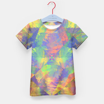 Thumbnail image of Brushstrokes Kid's T-shirt, Live Heroes