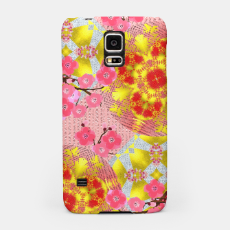 Thumbnail image of Oriental Delight Pink Cherry Blossom Print Samsung Case, Live Heroes