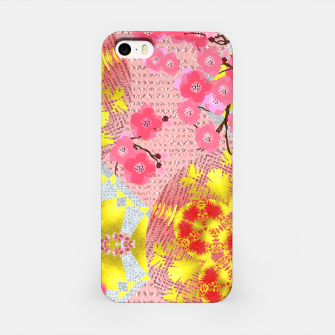 Thumbnail image of Oriental Delight Pink Cherry Blossom Print iPhone Case, Live Heroes