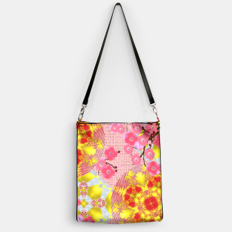 Thumbnail image of Oriental Delight Pink Cherry Blossom Print Handbag, Live Heroes
