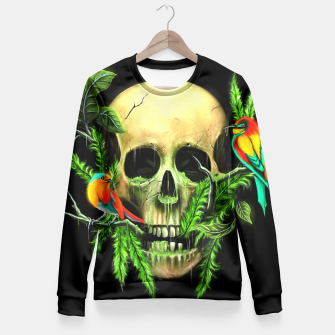 Thumbnail image of Life & Death Fitted Waist Sweater, Live Heroes