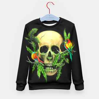 Thumbnail image of Life & Death Kid's Sweater, Live Heroes