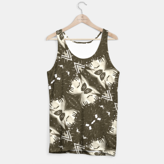 Miniaturka Goth Girl Abstract Pattern  Tank Top, Live Heroes