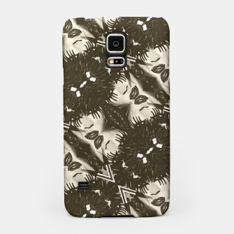Miniaturka Goth Girl Abstract Pattern  Samsung Case, Live Heroes
