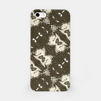 Miniaturka Goth Girl Abstract Pattern  iPhone Case, Live Heroes