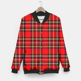 Thumbnail image of Miss Tartan Baseball Jacket, Live Heroes